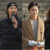 tvN新劇《阿斯達編年史》公開開機儀式現場圖!主演宋仲基、金智媛、張東健、金玉彬終於同框