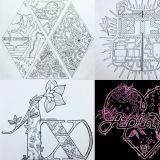 很多粉丝都拜托Ta给自家爱豆画logo!
