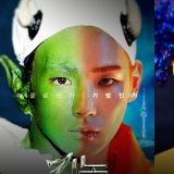 粉丝太有才了!将SHINee Key历年来的万圣节装扮都P成海报了!
