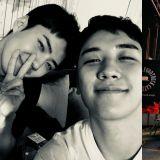 忙內們聚集了!BIGBANG勝利分享與EXO世勳的合照:「成為朋友的第三年」
