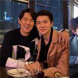 EXO世勳參加完電影《鬼影特攻:以暴制暴》活動後…和柳演錫深夜會面!