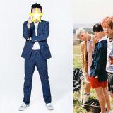 韓國綜藝老前輩 想要與火紅的防彈少年團挑戰LIVE合體???