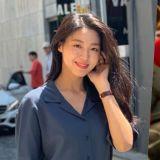 雪炫&趙怡賢林蔭路約會PO照!美人+美人真的養眼耶~