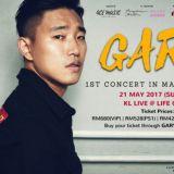 新婚燕尔的Gary马来西亚演唱会突取消    原因令人一头雾水
