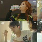 現在韓國一眾大勢演員都最愛喝的飲料!新的代言人顏值也很高啊~