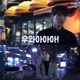 《鬼怪》第8集花絮:李栋旭&刘寅娜寒冬深夜也在拍戏