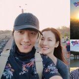 金素妍谈与李尚禹交往期间「早上7点就开始约会」结婚最大的好处就是....不用早上7点约会♥