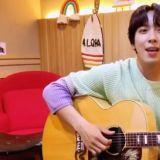 郑容和 IG 公开「Wedding Boys」新歌一小片段,吉他弹唱歌声超甜~