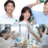 这个画面太美好!李准基、朴敏英、宋江、朴恩斌和姜其永一起拍摄广告,好想加入这聚会啊~
