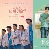 【KSD評分】由韓星網讀者評分:《機智醫生生活2》五人幫穩坐TOP 1位置!