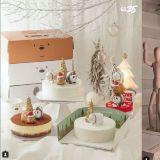 迎接12月冬季,聖誕節造型蛋糕、蠟燭即將上市