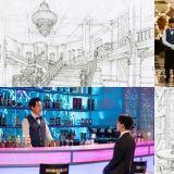 《德鲁纳酒店》艺术总监公开350坪酒店设计图:空间也是一个角色!