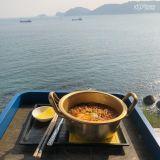 釜山最漂亮的view之一:邊看海邊享受美食吧~