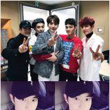 為EXO-CBX、SJ圭賢應援的SUHO 忍不住稱讚「太帥了!」