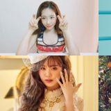 今天是个好日子呢!少女时代太妍、BTS防弹少年团SUGA、(G)I-DLE穗珍、SOMI等都是今天生日!