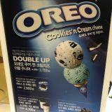 「31冰淇淋」韩国Baskin Robbins 11月份新口味:Cookies'n Cream Cheese!