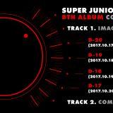 Super Junior正規八輯行程表出爐!17日公開團體照片