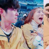 女友見到EXO真人超激動!男友默默祝福,眼神卻已死XD