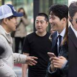 《最佳一擊》車太鉉PD與演員張赫友情滿滿的拍攝照曝光