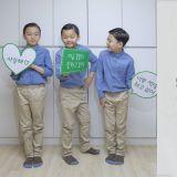 「國民三胞胎」大韓民國萬歲近況公開:三七分頭鋥亮,完全是小大人了!