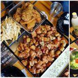韩国「CM Chicken」的拼盘真的超丰富!视觉与味觉的享受啊!
