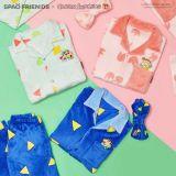 《SPAO X 蜡笔小新》新款法兰绒睡衣即将上市