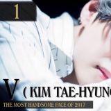BTS V当选2017年世界最帅面孔 童年照片已经无可挑剔啊
