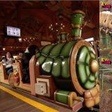 「愛寶樂園」全新遊樂設施在日前正式營運啦!是「倒著開」的雲霄飛車...光想就覺得好刺激!