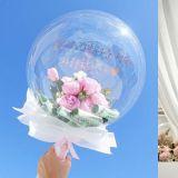 韩国超流行梦幻气球花束!最后两束谁都逃不过它们的魅力XD