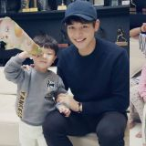 SHINee珉豪化身為小區哥 來找李同國家的大發姐弟玩耍啦
