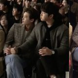 李鍾碩&尹鈞相一起看時裝秀!這畫面太有愛,根本是在看他們放閃吧!