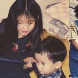 IU為親弟弟慶生,公開和親弟弟童年的照片!真的和小時候一樣都沒有變呀~!