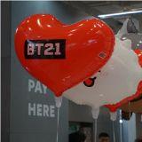 弘大BT21再度開賣,買商品就送超可愛氣球