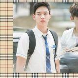 【為何《學校2017》中韓國高中生校服,出現 Burberry「格紋」領設計?】