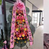 EXO XIUMIN向开设学院的圈外朋友送去花环!贺词被赞「SENSE满分」