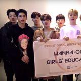 Wanna One 回饋粉絲的愛與支持 為聯合國少女教育推廣活動慨捐 1 億韓元!