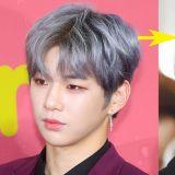皮膚白皙的Wanna One姜丹尼爾,不管是金髮、銀髮都適合的他呢~!