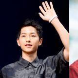 宋仲基為JTBC《只是相愛的關係》劇組送上零食車  應援好友李俊昊
