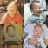 《超人回來了》柳真嬰兒期照片公開 與女兒驚人相似