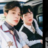 BTS JIMIN&JIN坐车飙唱七首歌展「吃CD歌唱实力」,大哥居然不知道弟弟的solo曲!XD