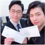 INFINITE南优铉IG更新『音乐剧门票售罄,拿到零花钱了』
