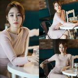 tvN新劇《鬼怪》劉仁娜首次拍攝照曝光 性感的炸雞店老闆