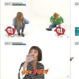 《一周偶像》EXID兩倍速經典名曲《Up & Down》全員累癱~!!!