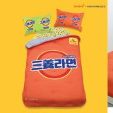 如果你是韓國拉麵愛好者...那就不能錯過三養拉麵棉被組!XD