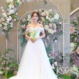 恭喜♥曾出演过《开朗少女》、《浪漫满屋》等剧的韩多感与企业家今日举行婚礼!