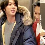 BTS防弹少年团Jin花了87万韩币请弟弟、工作人员们吃饭!结帐的信用卡是...最上位0.05%的VVIP黑卡!