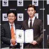 朴敘俊為環境保護努力   成為WWF宣傳大使