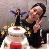 宋智孝PO照感谢粉丝为她庆生 笑容超甜!