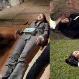 《Busted!明星來解謎》有一種姿勢叫「朴敏英躺」