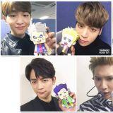 Key的臉是綠色的?!SHINee 官方紙娃娃登場!